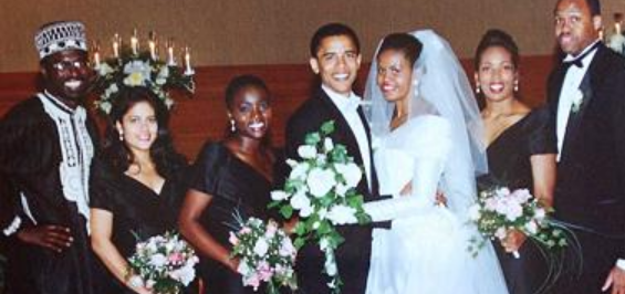 Biography.com says Barack and Michelle married 3 weeks apart from each
