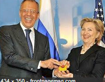Hillary Clinton Cold War Reset Button
