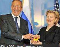 Hillary Clinton Cold War Reset Button