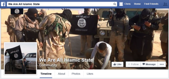 We Are All Islamic State Facebook Page